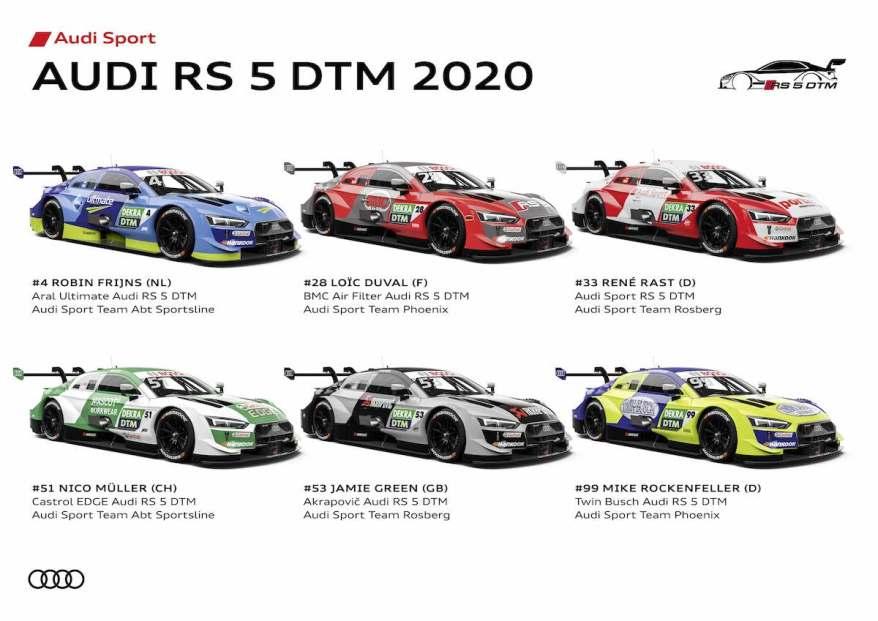 Audi RS 5 DTM 2020 ©Audi