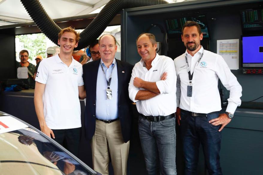 Ferdinand von Habsburg; Albert II, Prince of Monaco; Gerhard Berger; Dr. Florian Kamelger,DTM Norisring 2019 ©DTM