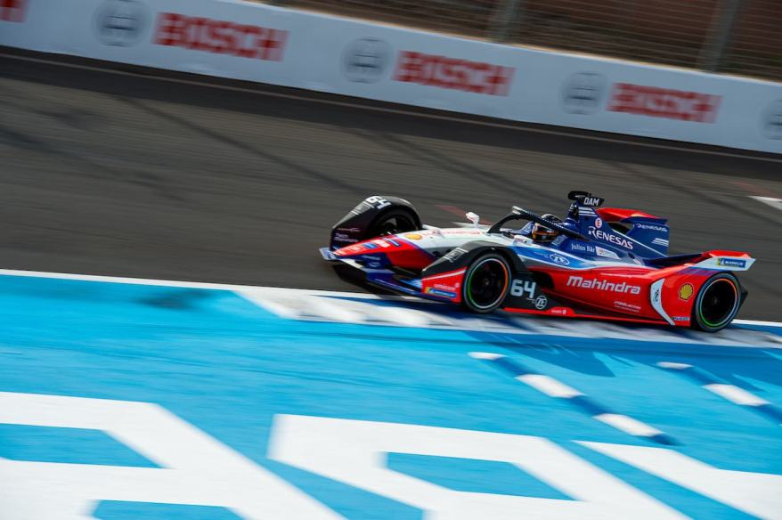 Jerome d'Ambrosio ,Formula E Marrakesh E-Prix 2020 ©Peter Minnig, courtesy by FormulaE
