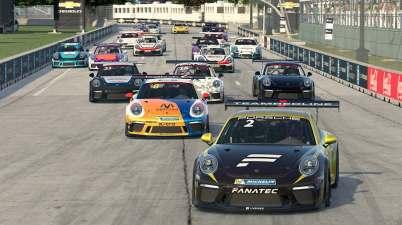 Porsche eSport Supercup ©Porsche