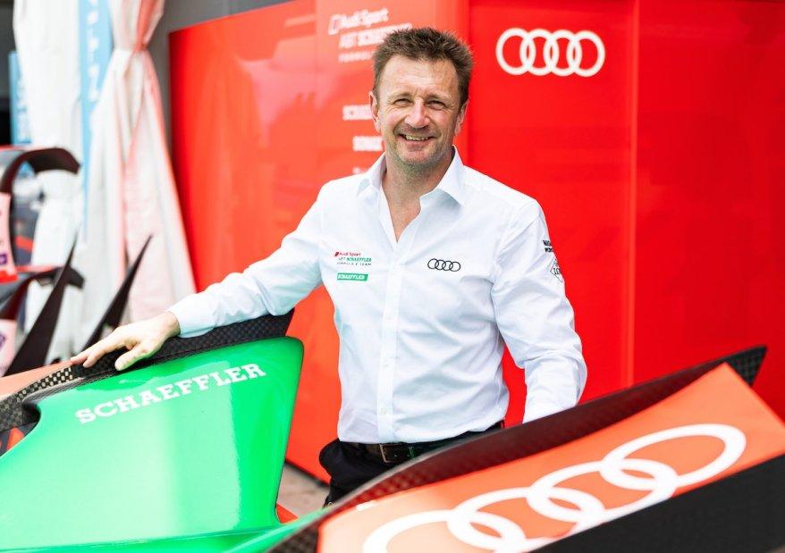 Allan McNish,Formula E, Santiago E-Prix 2020 ©Audi