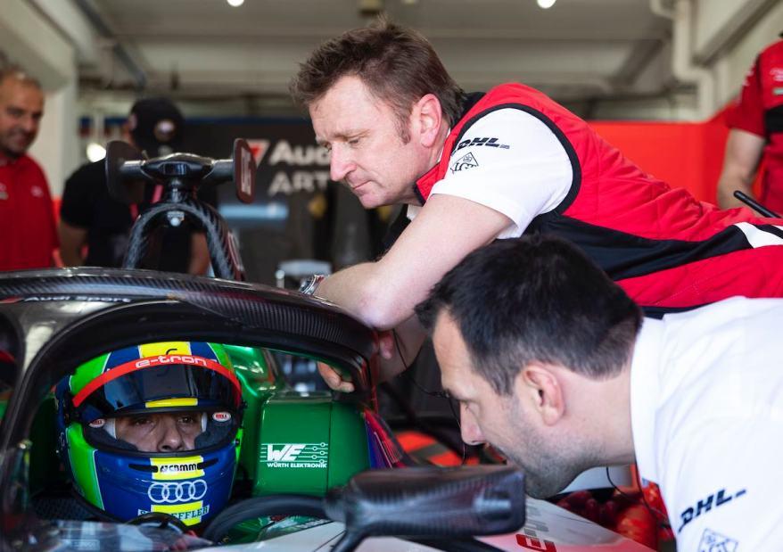 Lucas di Grassi, Allan McNish,Formula E Test ©Audi