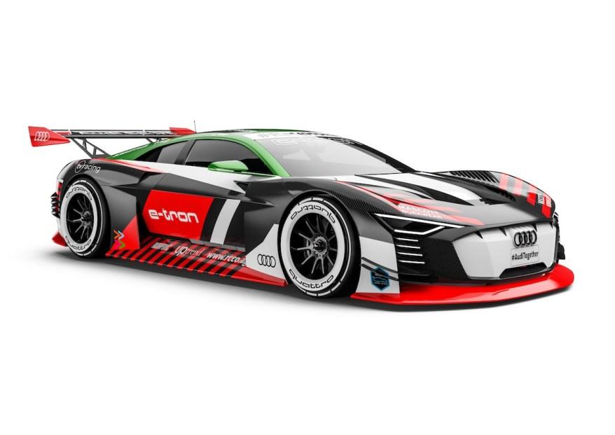 SCHAEFFLER Audi e-tron Vision Gran Turismo #7 (tv racing), Thomas Voigt, #RaceHome ©Audi