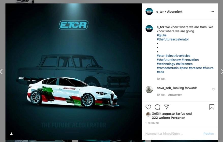 ETCR Instagram ©ETCR Instagram