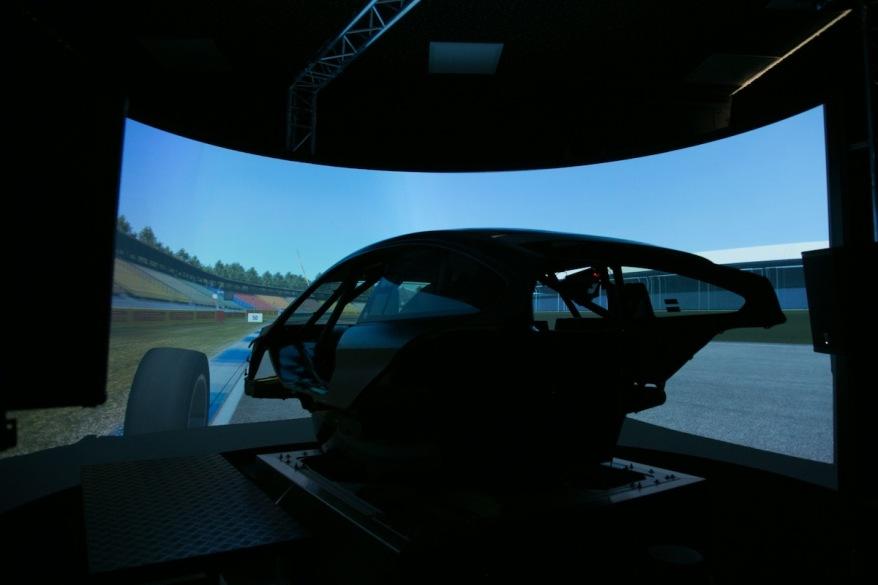 BMW Motorsport Simulator ©BMW