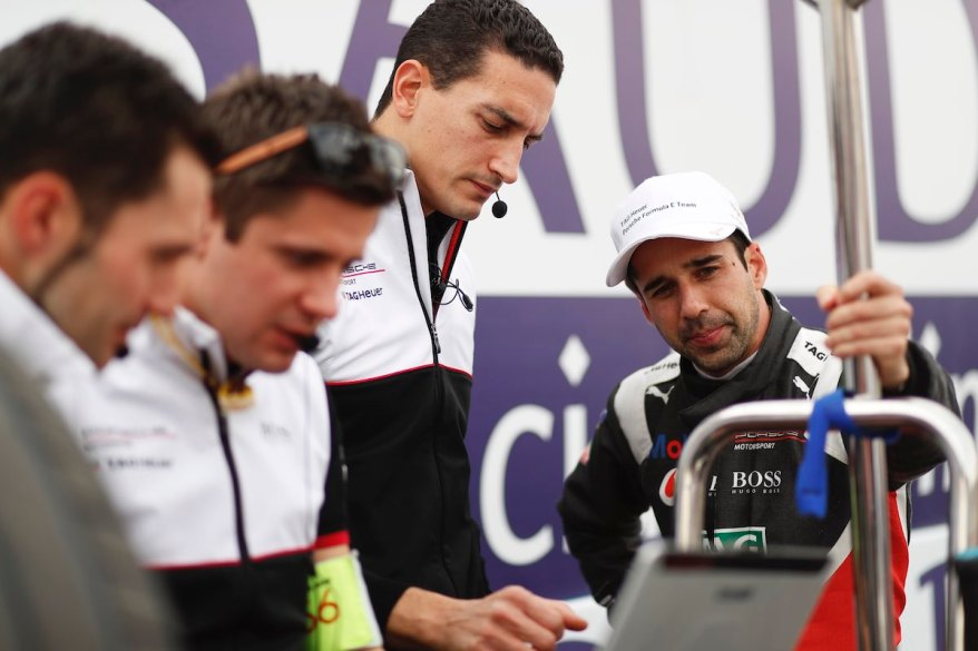 Neel Jani (CHE), Tag Heuer Porsche, Porsche 99x Electric on the grid @courtesy by FormulaE
