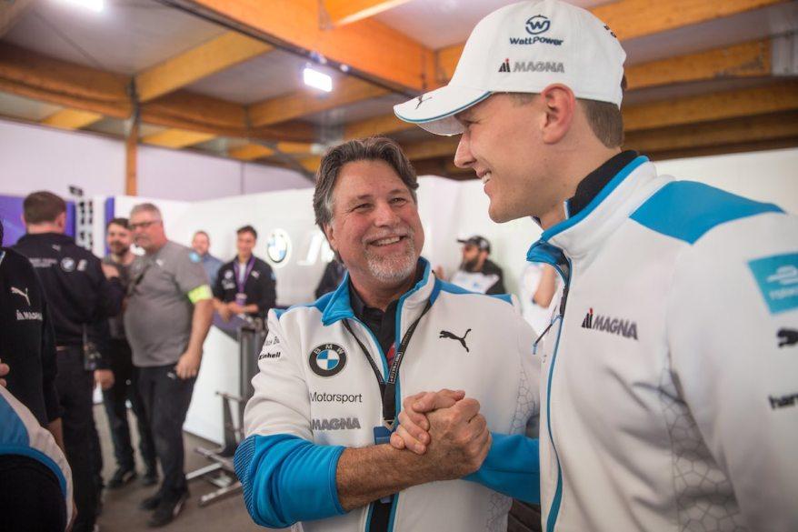 Andretti und Günther BMW i Andretti Motorsport ©BMW