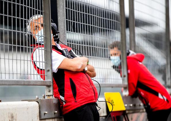 Ernst Moser,DTM Test Nürburgring 2020 ©Audi