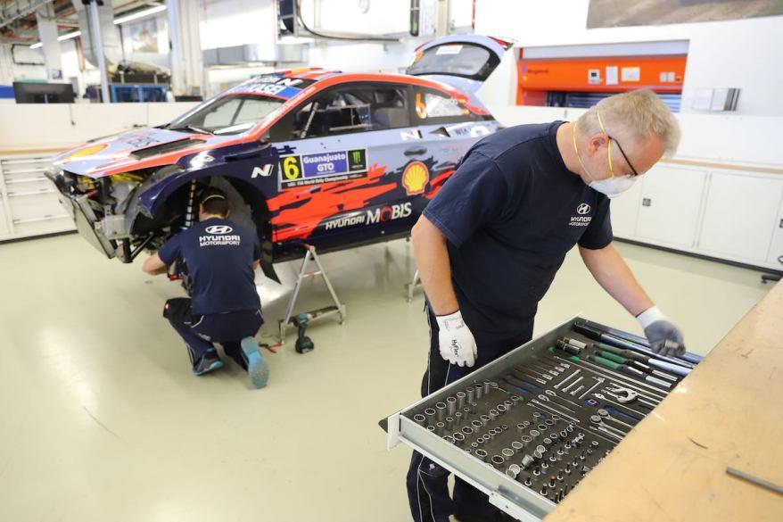 Hyundai Motorsport in Alzenau©Hyundai