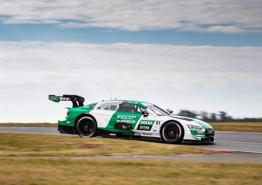 DTM Test Nürburgring Nico Müller @DTM