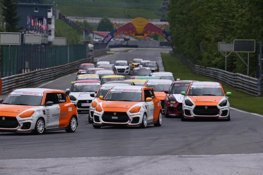 Suzuki Swift Cup Europe - ©Credit Suzuki Team Austria_Salzburgring