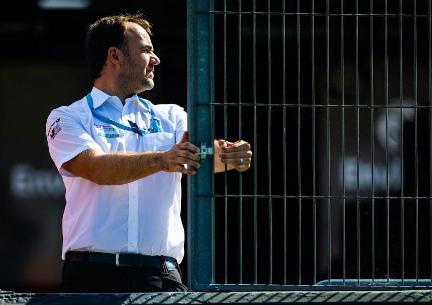 Thomas Biermaier bei Formula E Test ©Audi
