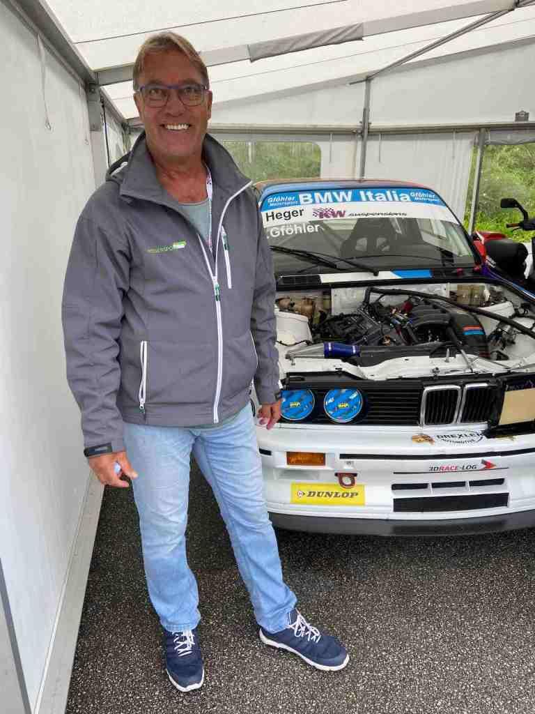 Altfrid Heger bei der Tourenwagen Classics Salzburgring 2020 ©EHirsch
