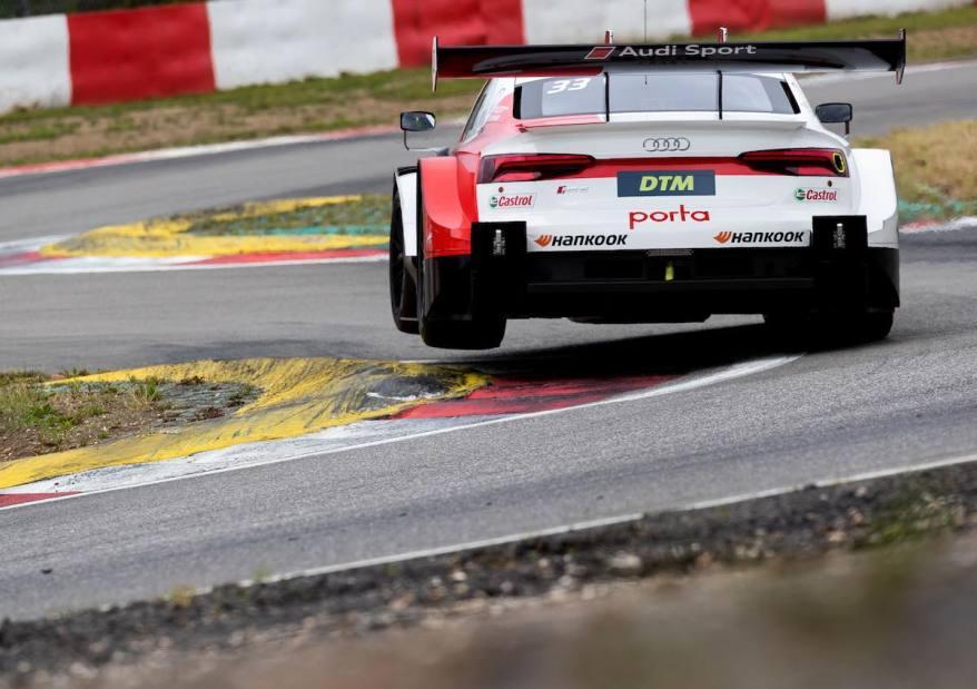 Jamie Green,DTM Test Nürburgring ©Audi