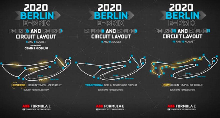 Berlin Layout 2020 Formel E ©FormelE
