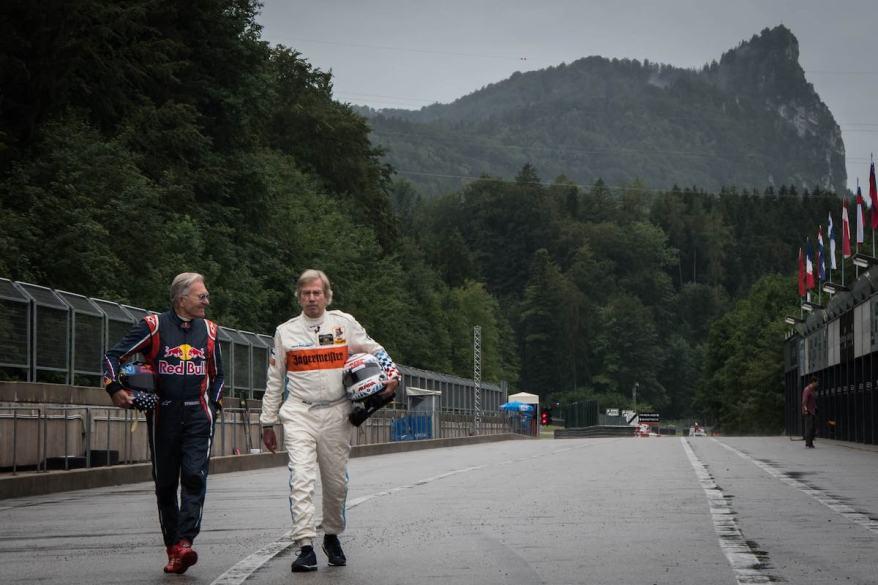 Dieter Quester und Prinz Leopold von Bayern - Salzburgring ©Alexander Kogler