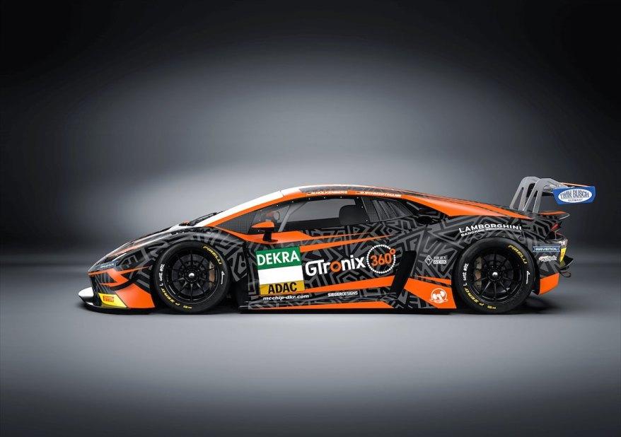 Lamborghini Huracán GT3 EVO ©ADAC