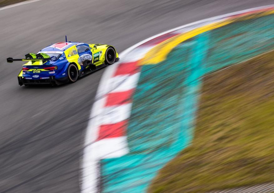 Mike Rockenfeller,DTM Test Nürburgring ©Audi