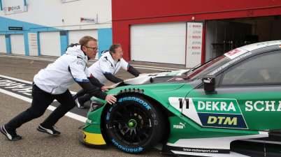 Reinhold und Team RMG in Zolder ©BMW