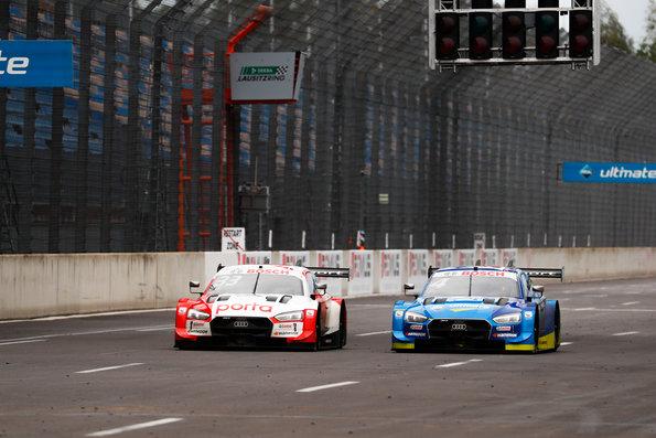 René Rast, Audi RS 5 DTM #4 (Audi Sport Team Abt Sportsline), Robin Frijn,DTM Lausitzring II 2020 © Audi