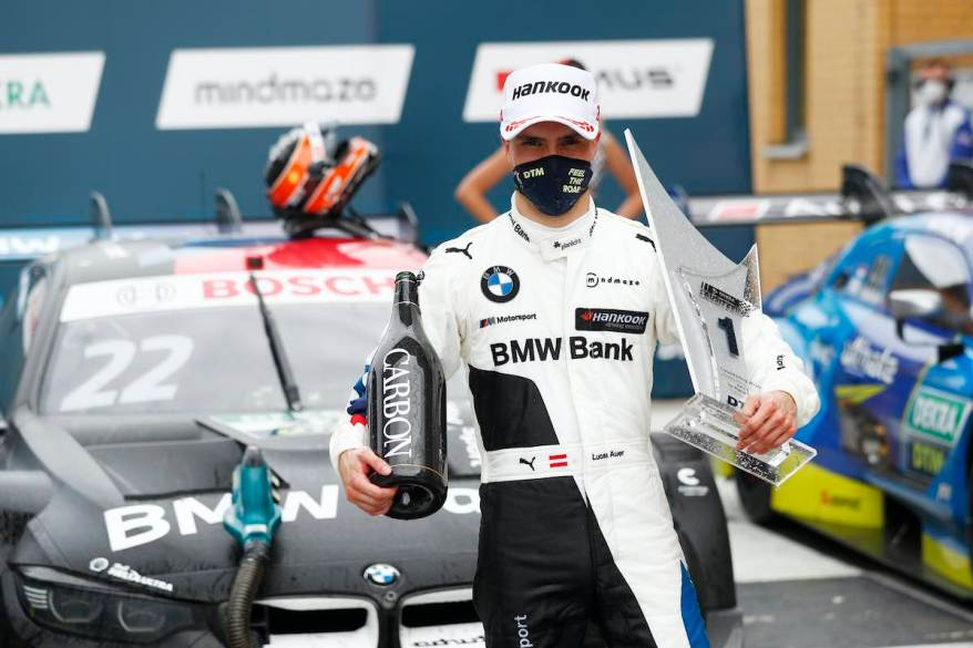 Lucas Auer siegt DTM Lausitzring ©DTM