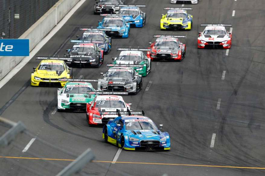 Start, Robin Frijns,,DTM Lausitzring ©DTM