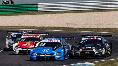 Österreicher-Duell Eng gegen Habsburg,DTM Lausitzring 2020 ©DTM
