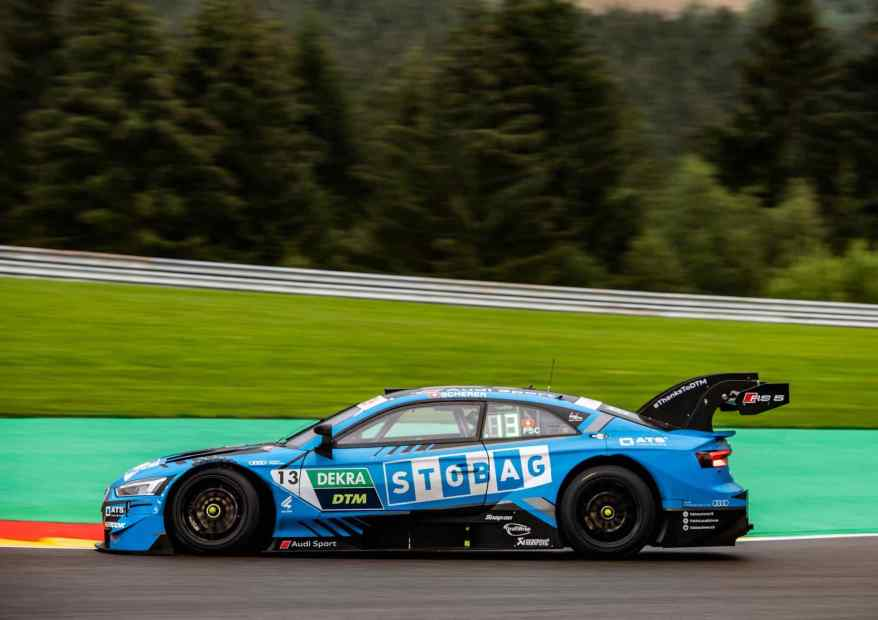 Fabio Scherer,Audi,DTM Spa 2020 ©WRT,Audi