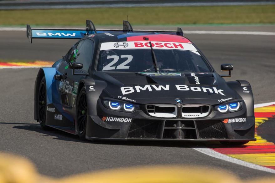 Lucas Auer im BMW M4 DTM ©BMW