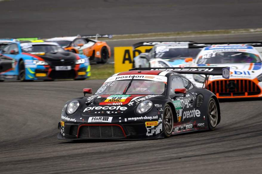 Porsche Doppelsieg vonRobert Renauer ,Sven Müller ©ADAC GT Masters