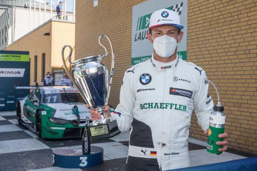 Marco Wittmann BMW Podium ©BMW