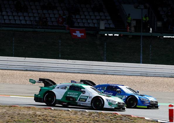 Müller und Frijns,DTM Nürburgring Sprint 2020 ©Audi
