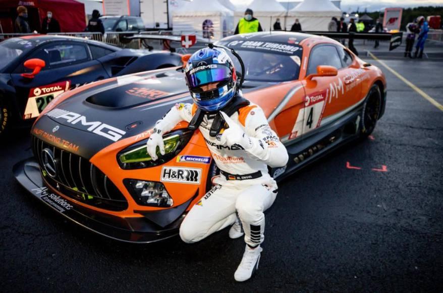 Maro Engel, Pole Position, 24h Nürburgring 2020 Maro Engel, Pole Position, 24h Nürburgring 2020 ©Mercedes