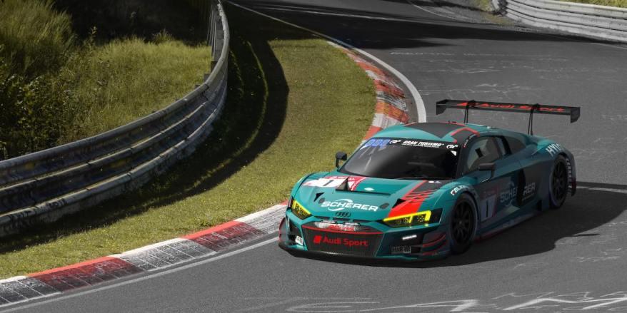 Audi R8 LMS #1 (Audi Sport Team Phoenix),24h Nürburgring 2020 ©Audi