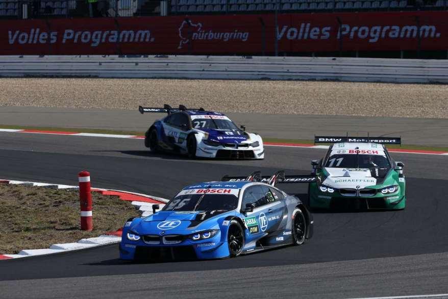 Philipp Eng P4 am Nürburgring ©BMW