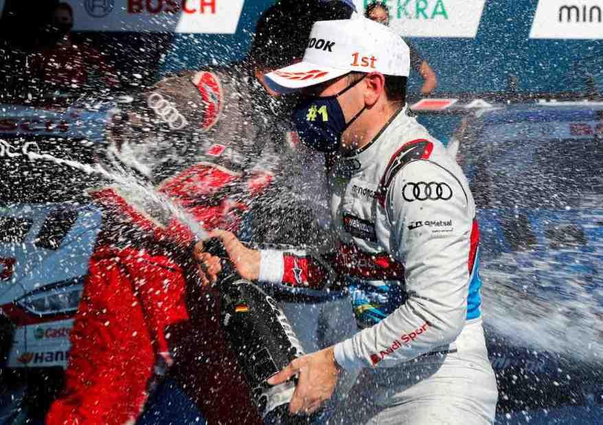 Robin Frijns,DTM Nürburgring Sprint 2020 ©Audi