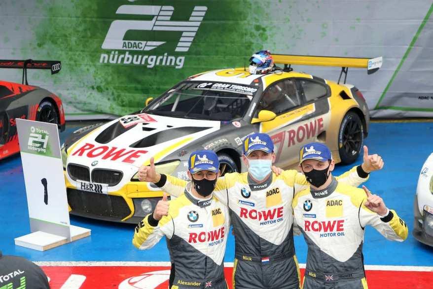 ROWE BMW Sieger 24h Nürburgring ©BMW