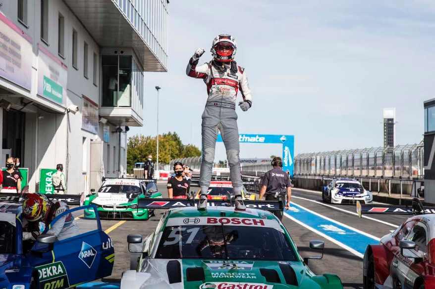 Nico Müller ,DTM Nürburgring Sprint 2020 ©Audi
