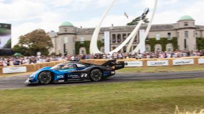 Romain Dumas,ID.R record Goodwood Festival of Speed 2019 ©VW