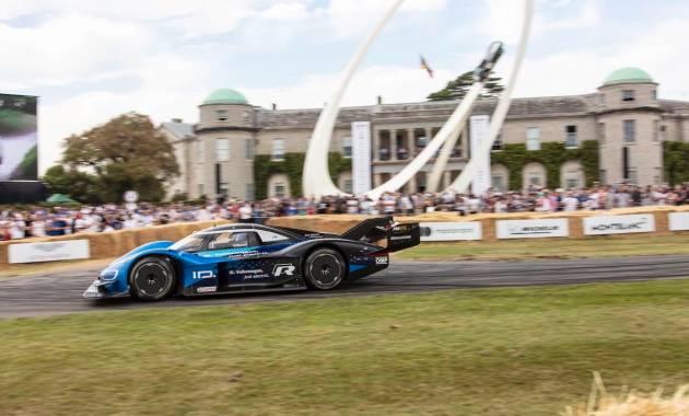Romain Dumas,ID.R record Goodwood Festival of Speed 2019 ©VW