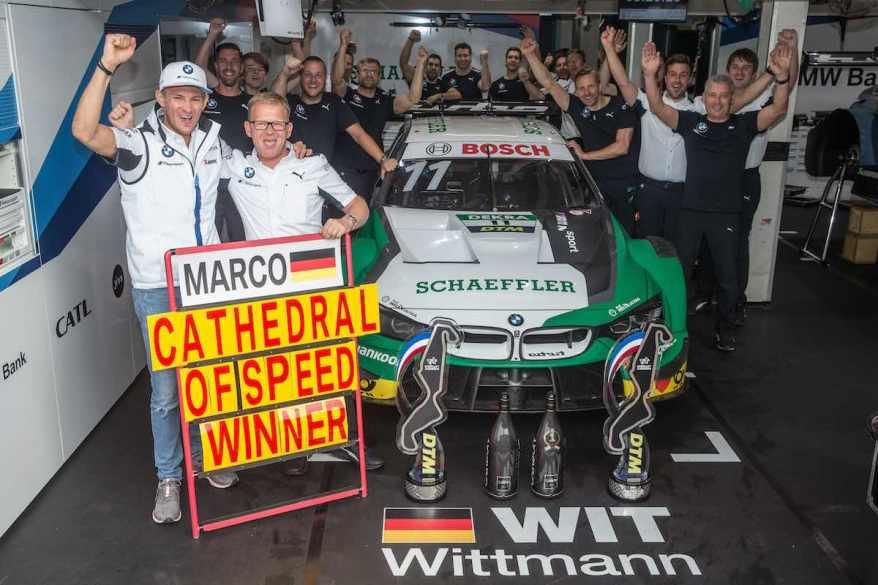 Marco Wittmann Sieg 2019 Assen ©BMW