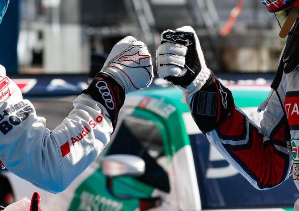 René Rast, Nico Müller,DTM NürburgringII 2020 ©Audi