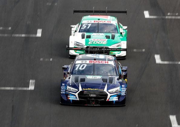 WRT Audi RS 5 DTM #10 (WRT Team Audi Sport), Harrison Newey, Castrol EDGE Audi RS 5 DTM #51 (Audi Sport Team Abt Sportsline), Nico Müller,DTM 2020, Zolder II ©Audi