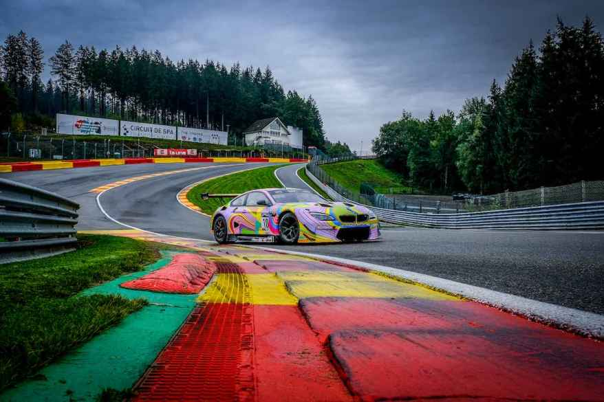 BMW M6 GT3 in Spa©BMW