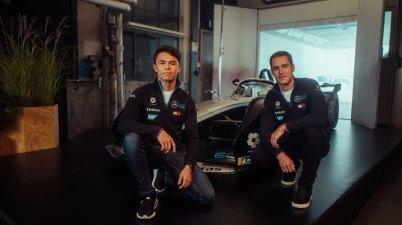 Nyck de Vries und Stoffel Vandoorne,Mercedes-Benz EQ Formel E Team ©Mercedes