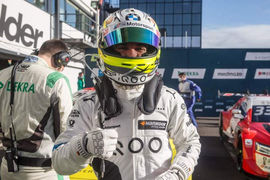 Timo Glock, Pole-Setter, BMW ©BMW