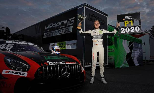 Tim Heinemann (GER), HP Racing, Mercedes AMG,2020 DTM Trophy Zolder - 2 ©DTM