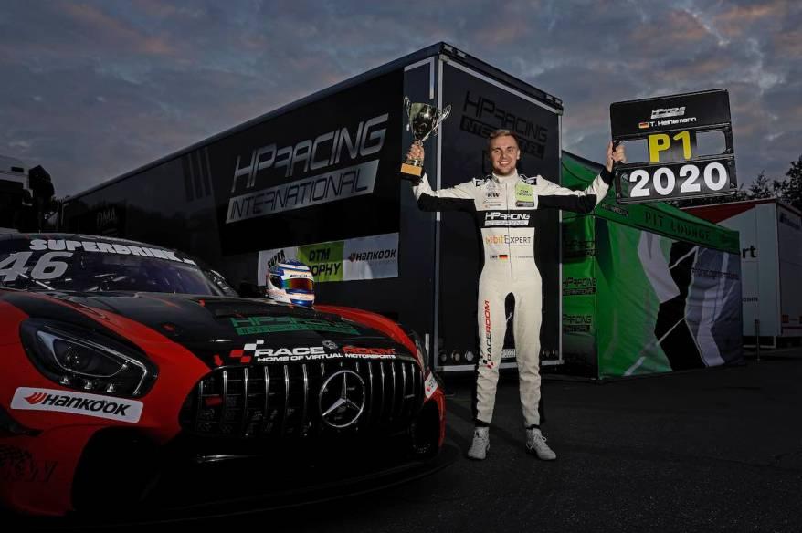 Tim Heinemann (GER), HP Racing, Mercedes AMG,2020 DTM Trophy Zolder - 2 ©DTM