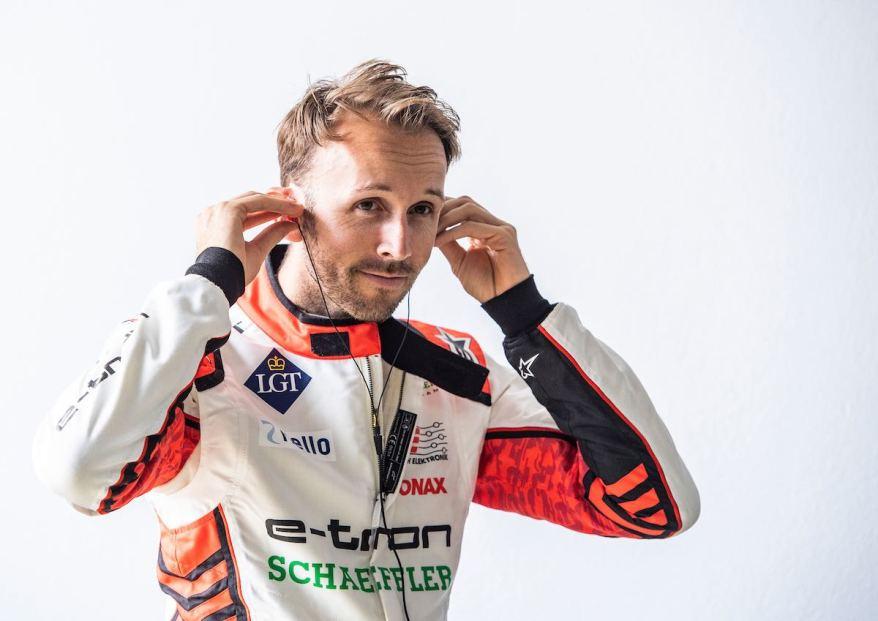 René Rast,Testfahrten Formel E, Lausitzring ©Audi