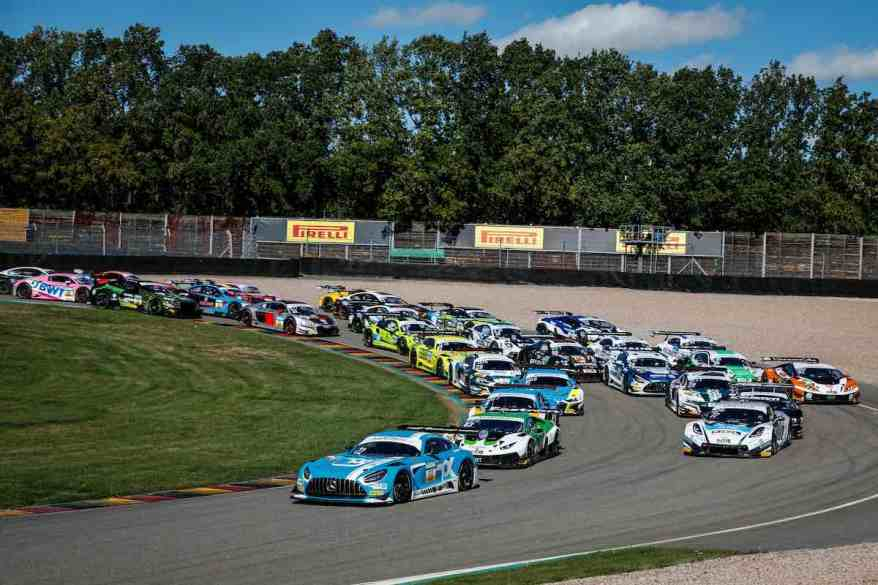 Start GT Masters am Sachsenring ©Gruppe C Photography